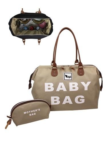 Stylo Baby Bag Anne Bebek Bakım Çantası Bej